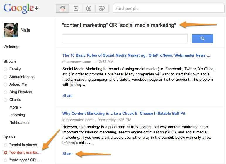 3 Ways to Use Google Plus for Content Marketing