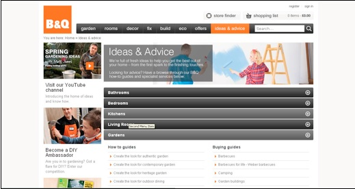 B&Q Ideas and Advice, CMI