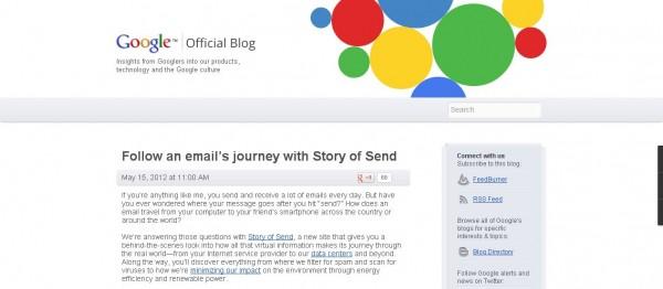 Google blog, CMI