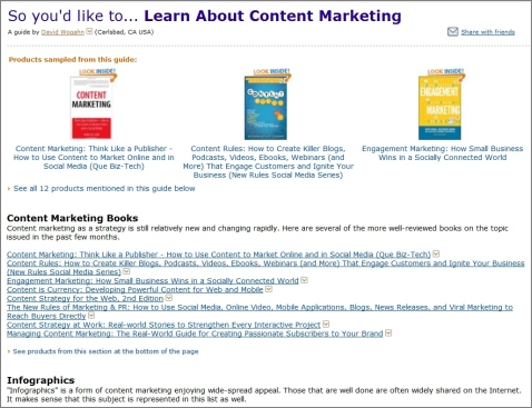 Learn about content marketing, CMI