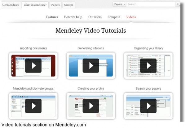 video tutorials, CMI