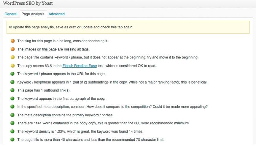 SEO Content: Optimize Keywords