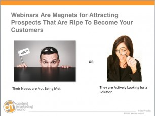 transform your webinars, CMI