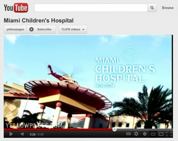 content creators, Miami Children's Hospital