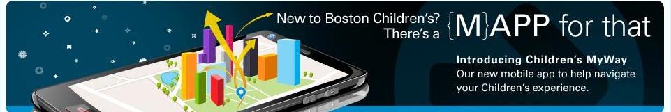 content creators, Boston Children's Hospital app