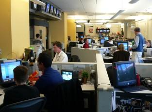 content-focused newsroom -- cover, CMI