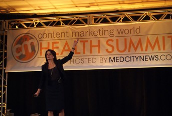 Content Marketing Institute Health Summit - Margaret Coughlin