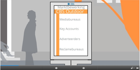 cbs outdoor used prezi in its content strategy