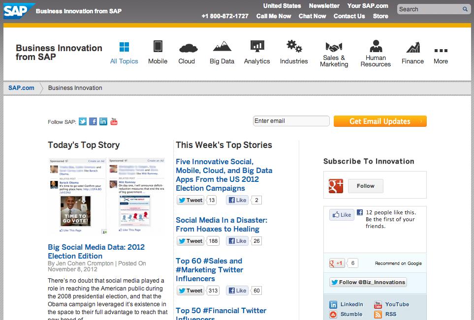 Online content publishing