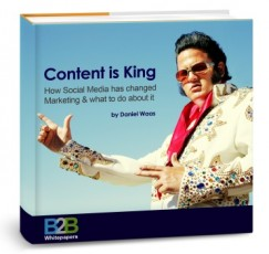 content design, 3D Elvis cover
