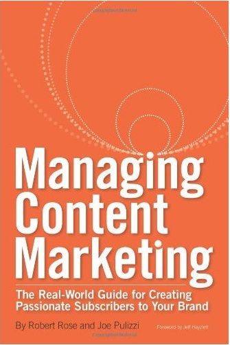 Content Marketers holiday gifts - Rose/Pulizzi