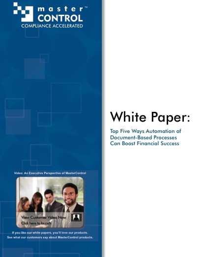 content marketing strategy - white papers