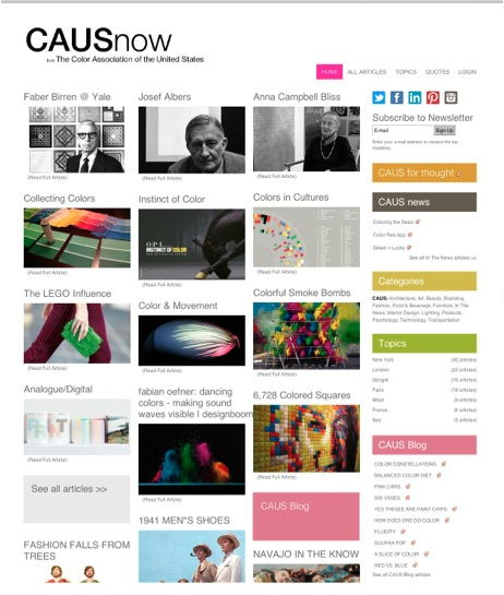 CAUSnow -content curation example