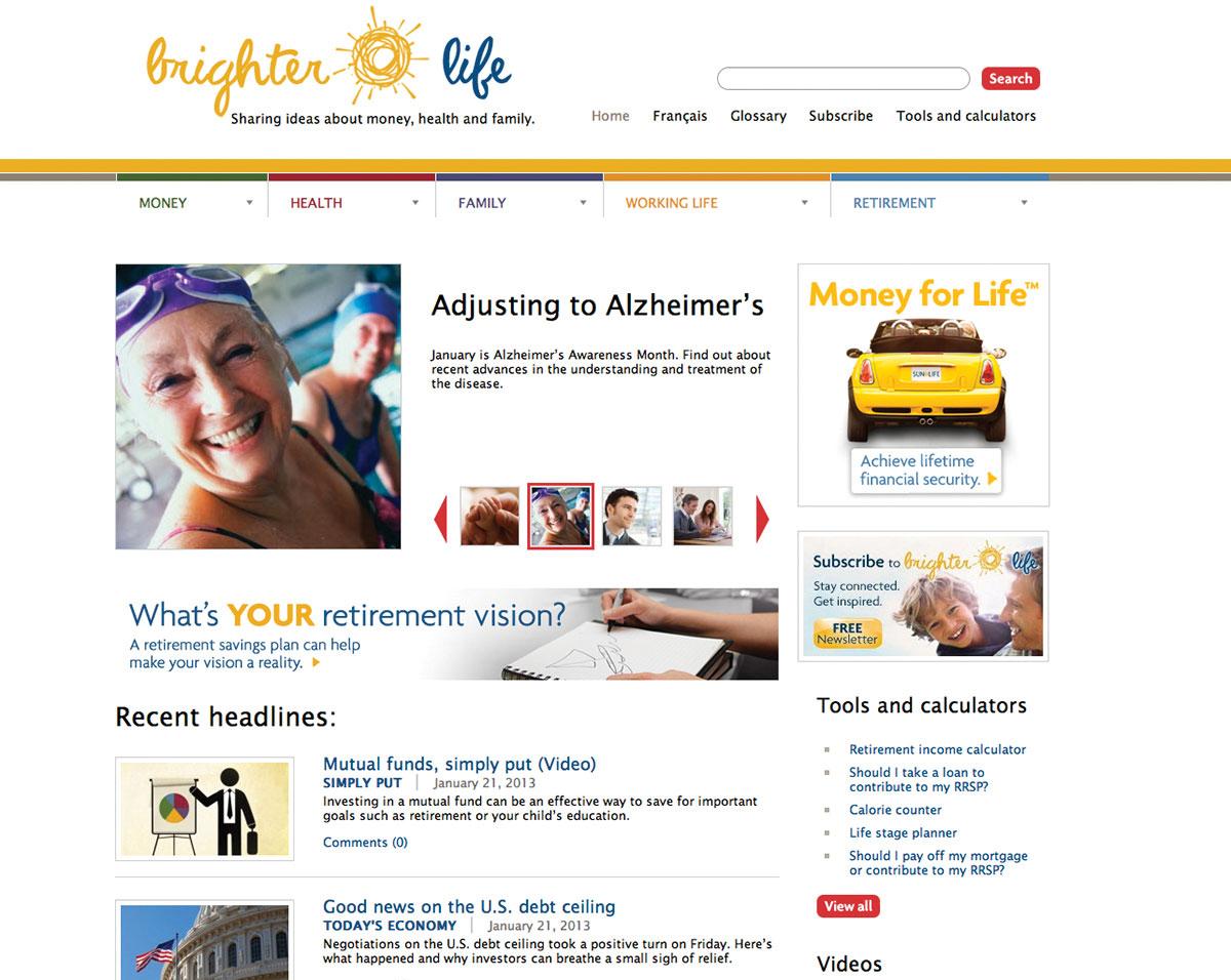 Sun Life Financial-Brighter Life