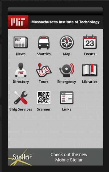 MIT mobile app