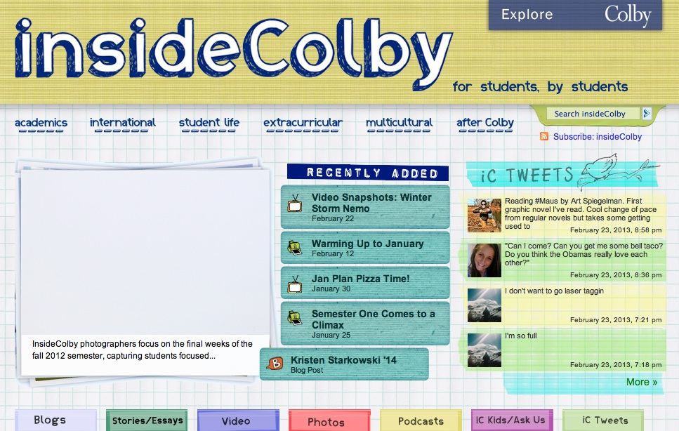 insidecolby site