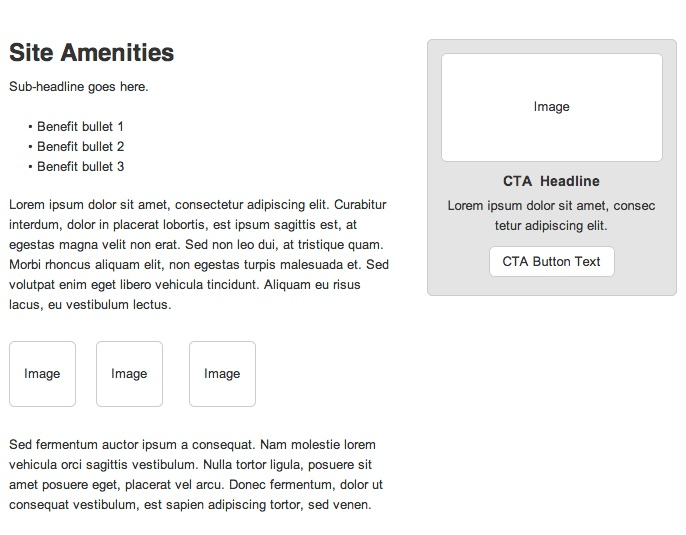 quality content-wireframe