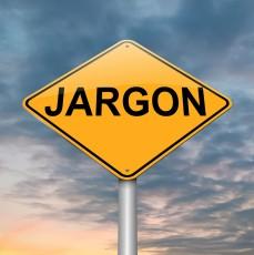 jargon road sign