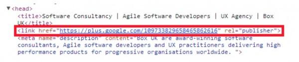 meta tag at Box UK