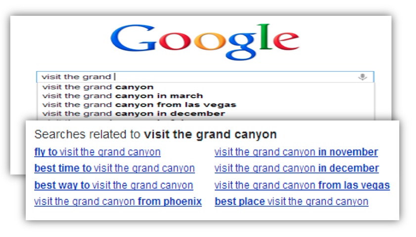 google related suggestions