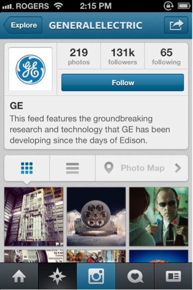 ge-instagram feed