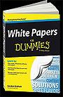 white papers for dummies-book cover