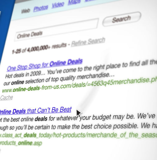 online deals search-blog content