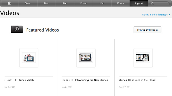 apple-featured videos