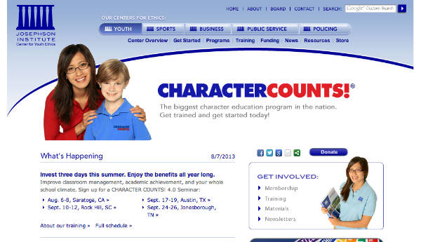 character counts!-josephson institute