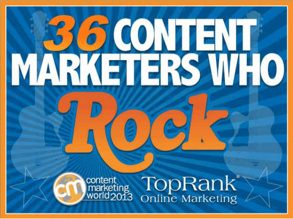 How to Rock at Content Marketing: Tips from 36 Industry Stars