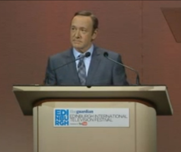 Corporate Storytelling Lessons: Kevin Spacey
