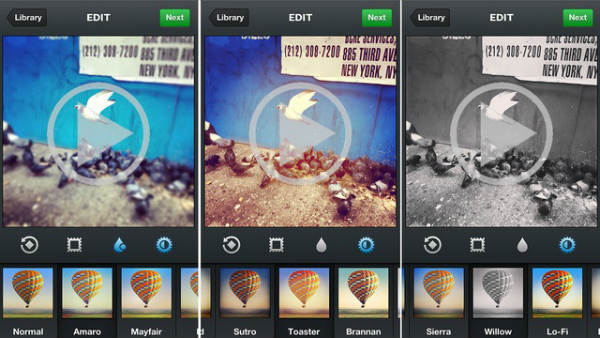 instagram video effects