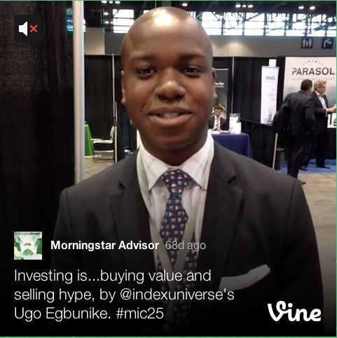 morningstar advisor on vine