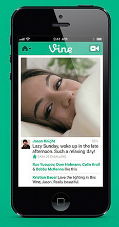 vine on mobile