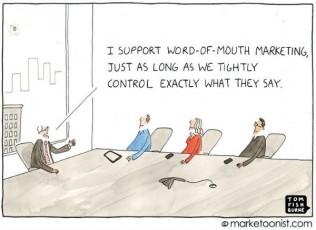 cartoon, word-of-mouth marketing