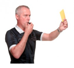 yellow card ref