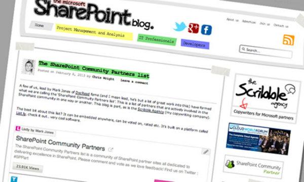 SharePoint blog