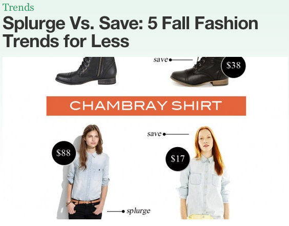trends for less images