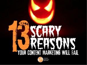 13 scary reasons-grinning jack-o-lantern