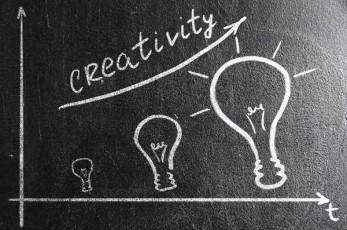 lightbulbs-process of creativity