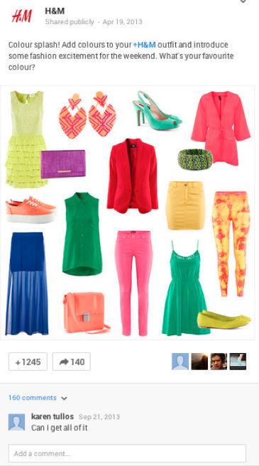 h&m-colour splash image