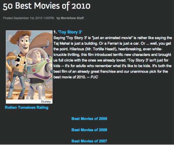 best movies-moviefone