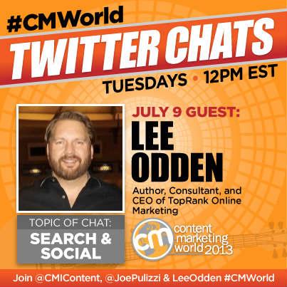 twitter chats-guest Lee Odden
