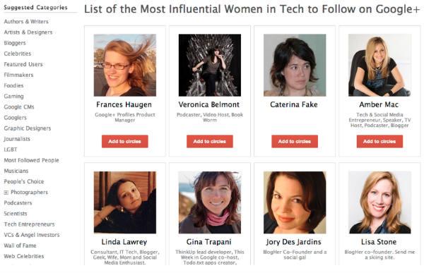 influential women in tech
