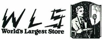 world's largest store-old radio illustration