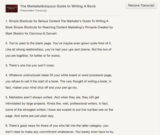 successful-content-marketing-slideshare-transcript