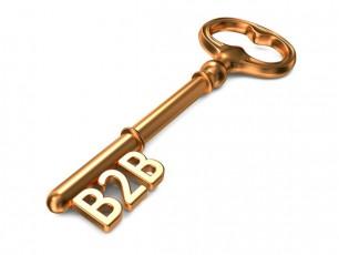 b2b key