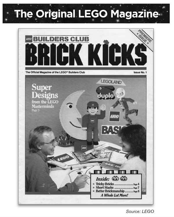 brick kicks - lego magazine