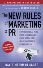 book cover-new rules of marketing