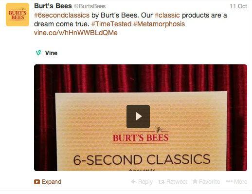 burts bees 6-second classics